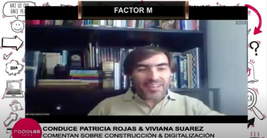 Entrevista en programa radial Factor M